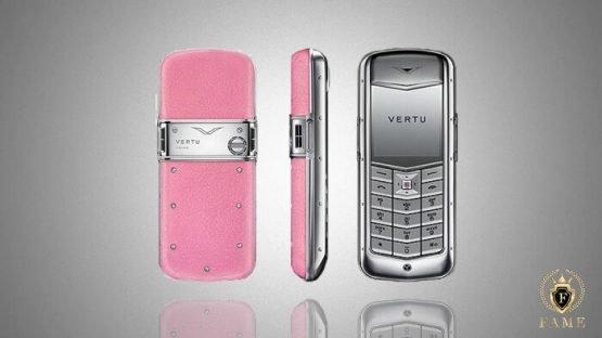 Vertu constellation pink
