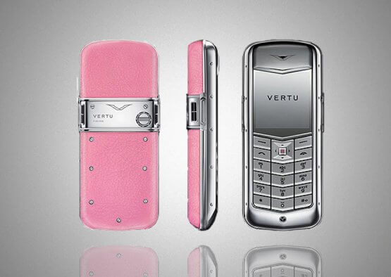 vertu constellation pink