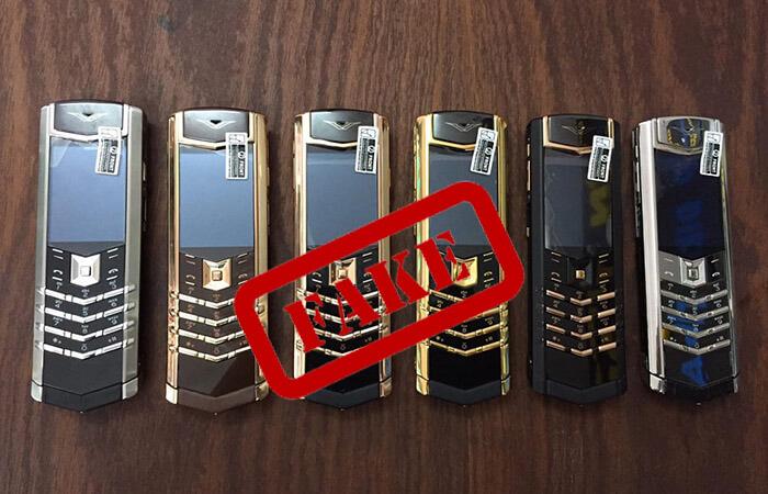 Điện thoại vertu nhái trên thị trường