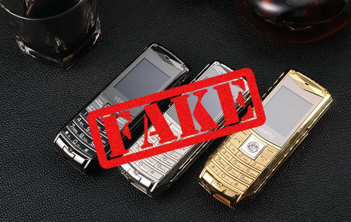 Điện thoại vertu v8 fake
