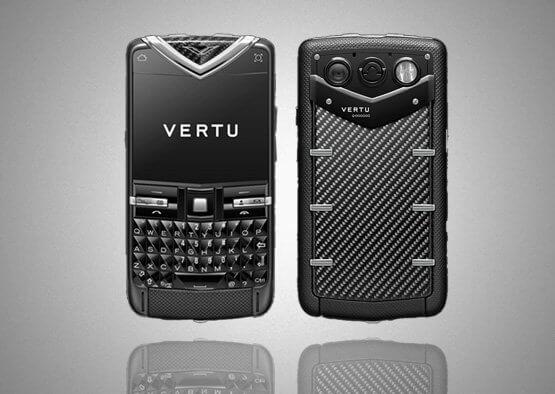 Vertu Quest Black Carbon Fibre