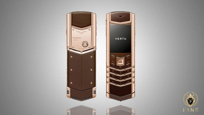 Vertu Signature Design Pure Chocolate Red Gold