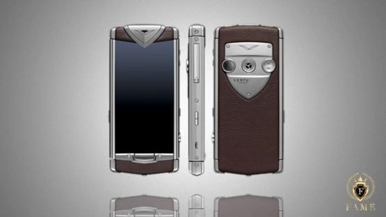 Vertu Constellation Touch Brown Leather