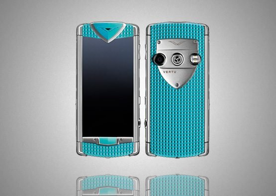 Vertu Constellation Touch Smile Coral Blue