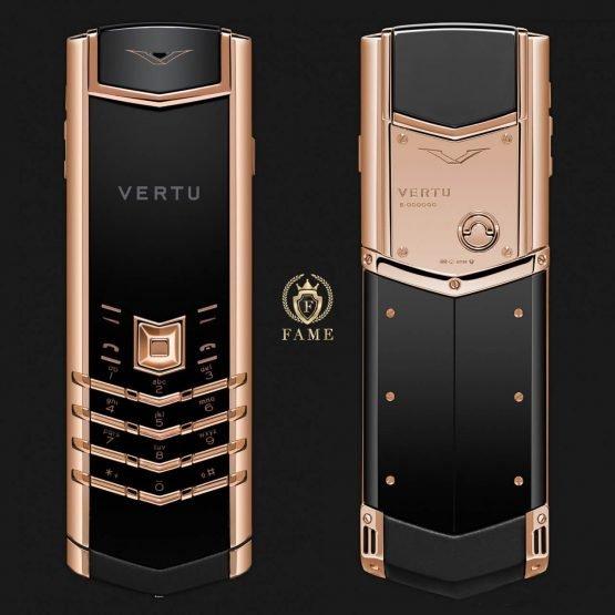 Vertu Signature S Design Red Gold Mới Full Box