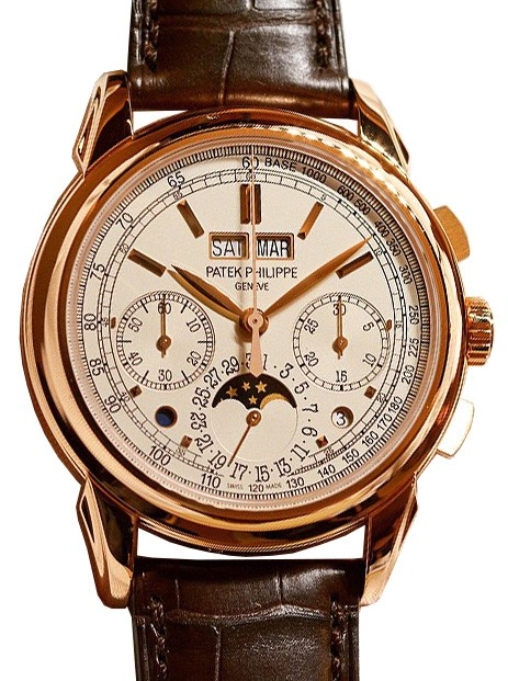 Patek Philippe Grand Complications Chronograph Perpetual calendar Rose Gold 5270R-001